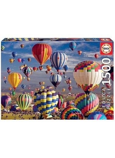 Educa Educa Puzzle 1500 Parça Sıcak Hava Balonu 17977 Renkli